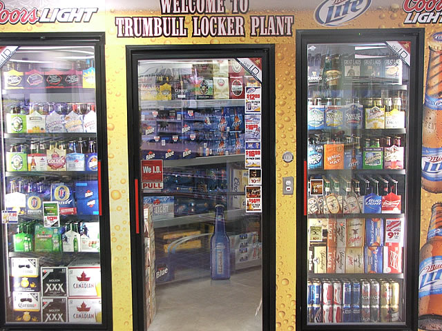 Beverage Coolers Trumbull Locker Plant Northern Ohio S